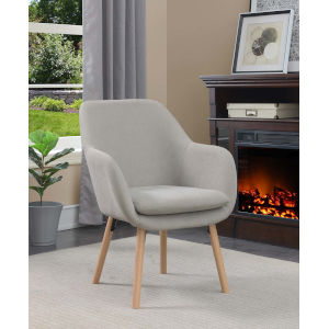 Charlotte Gray Accent Chair
