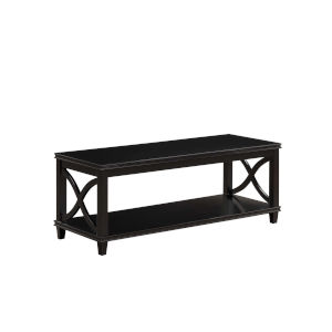 Florence Black 18-Inch Coffee Table