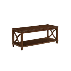 Florence Espresso 18-Inch Coffee Table
