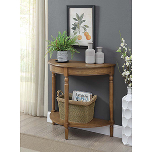 French Country Brown Entryway Table