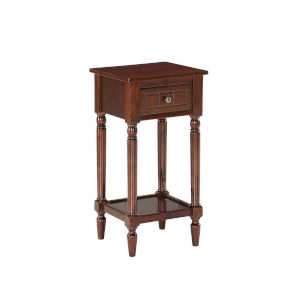 French Country Espresso Khloe Accent Table