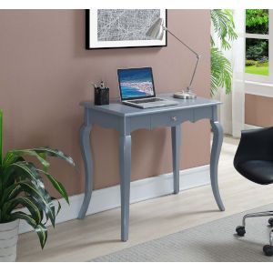 French Provence Gray 18-Inch Desk