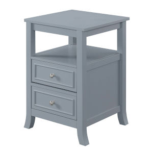 Melbourne Gray MDF End Table