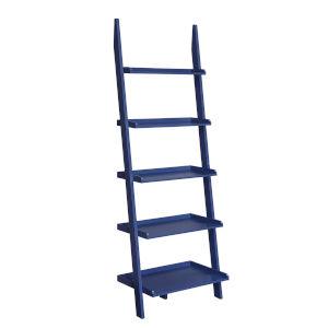 American Heritage Cobalt Blue Bookshelf Ladder