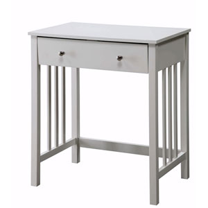 Designs2Go White Mission Desk