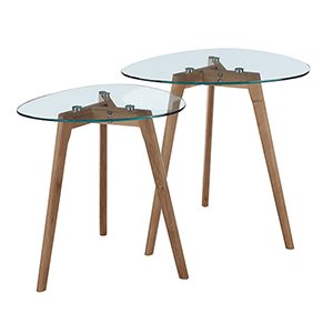 Clearview Nesting End Tables
