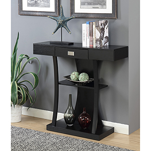 Newport Harri Black Console Table