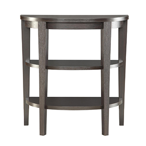 Newport Espresso Three Shelf Console Table