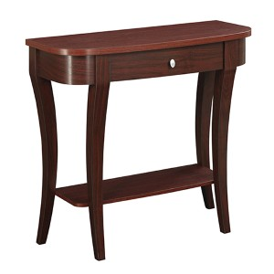 Newport Mahogany Console and Entryway Table