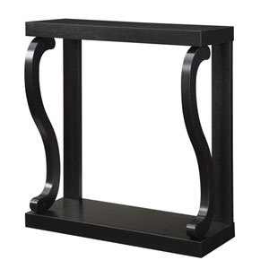 Newport Espresso Gramercy Console Table