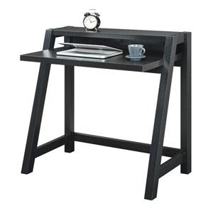 Newport Black Computer Desk