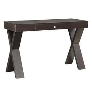 Newport Espresso Desk with Drawer