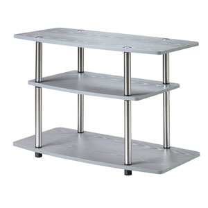 Designs2Go 3 Tier TV Stand