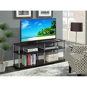 Designs2Go 3 Tier 60-Inch TV Stand in Espresso