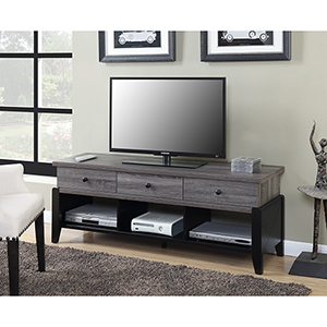 Newport Wheathered Gray 60-Inch Yorktown TV Stand