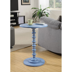 Palm Beach Blue Spindle Table