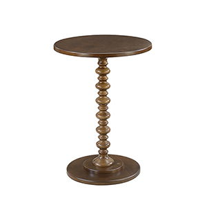 Palm Beach Spindle Table, Espresso