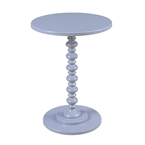 Palm Beach Spindle Table, Gray