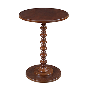 Palm Beach Spindle Table, Mahogany