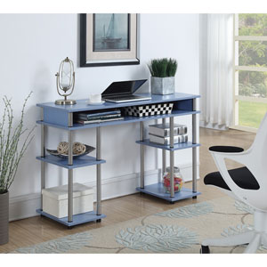 Designs2Go Blue No Tools Student Desk