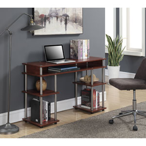 Designs2Go Cherry Student Desk