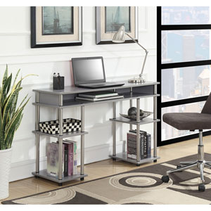 Designs2Go Gray Student Desk