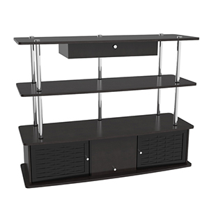 Designs2Go Black Aspen TV Stand