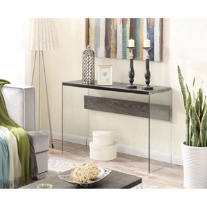 Soho Console Table, Weathered Gray