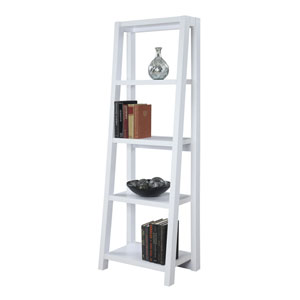 Newport Lilly White Bookcase