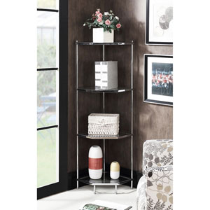 Royal Crest 4 Tier Corner Shelf