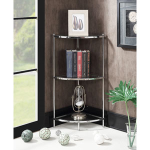 Royal Crest 3 Tier Corner Shelf