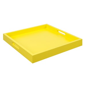 Palm Beach Yellow Tray