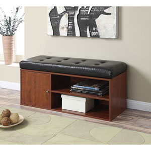 Designs4Comfort Cherry Storage Ottoman