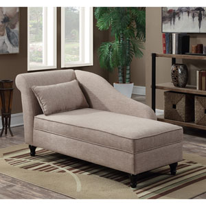Designs4Comfort Cleo Lounge Ottoman with Storage