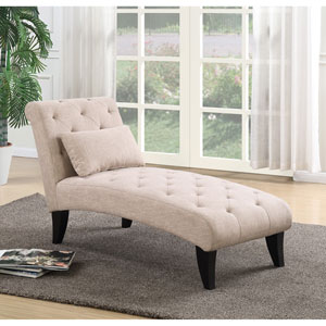 Designs4Comfort Tan Ashley Lounge Ottoman