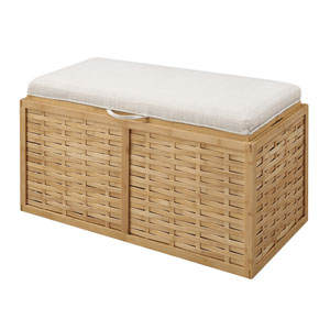 Double Bamboo Ottoman, Weave