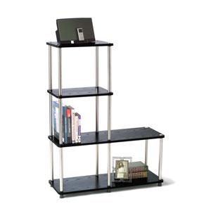 Designs2Go Black L Bookshelf