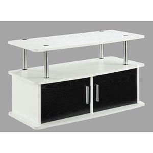 Designs2Go White 2 Door TV Stand