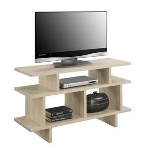 Designs2Go White Console TV Stand