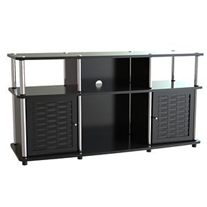 Designs2Go Black Chelsea TV Stand