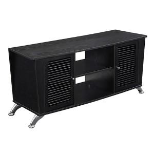 Designs2go Voyager Black TV Stand