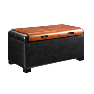 Storage Ottoman with Trays
