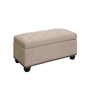 7th Avenue Storage Ottoman