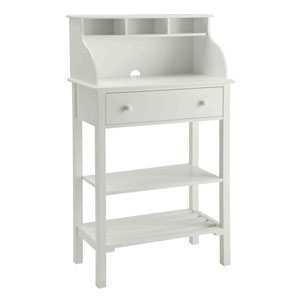 Designs2Go White Storage Desk