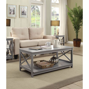 Oxford Gray Coffee Table