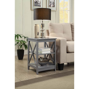 Oxford Gray End Table