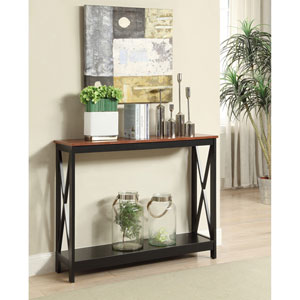 Oxford Cherry Console Table