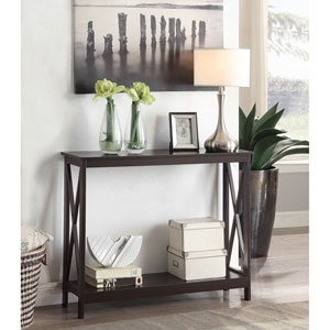 Oxford Espresso Console Table