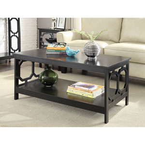 Omega Black Coffee Table