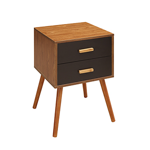 Oslo Cherry 2-Drawer End Table